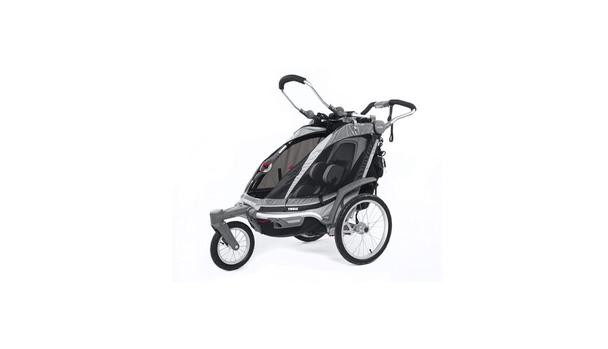 Thule Chariot Chinook 1 + Buggy Set antraciet